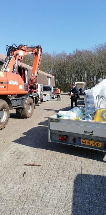 Compost actie SKB in Nieuwleusen goed verlopen - Foto: eigen geleverde foto
