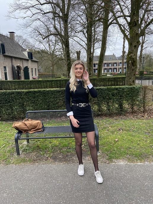 Nathalie van Dijk in finale van Miss Beauty of Overijssel - Foto: eigen geleverde foto