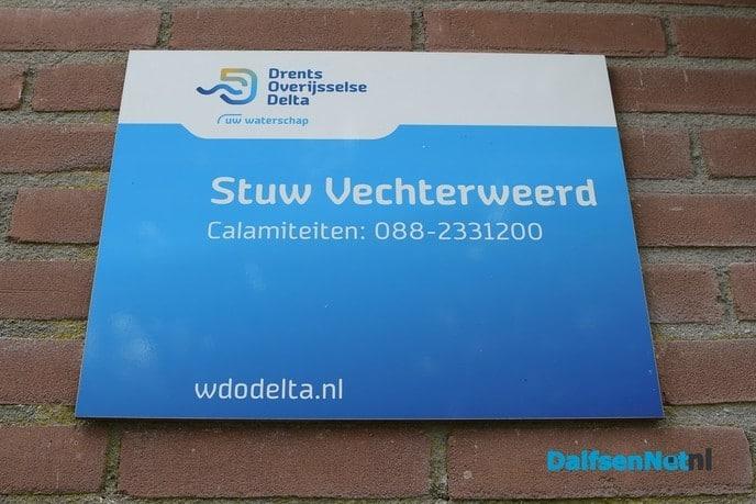 Sluizen Vechterweerd en Vilsteren weer open - Foto: Johan Bokma