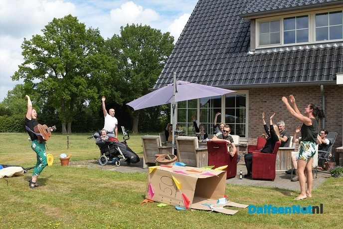 Leonie Kamphuis ziet vandaag Sara - Foto: Johan Bokma