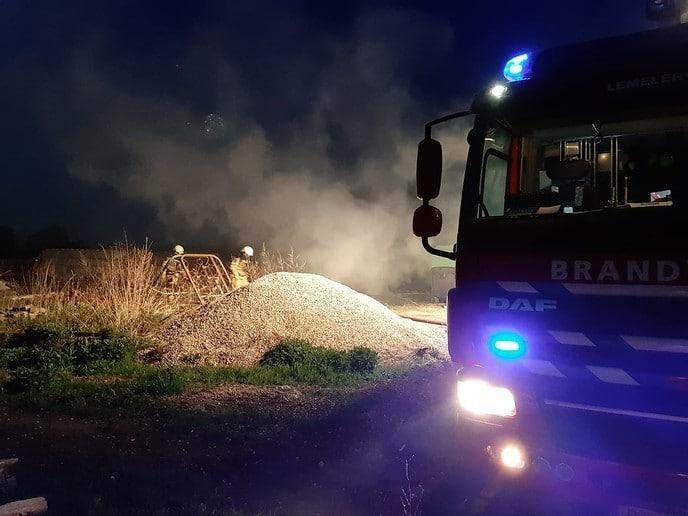 Update met foto's Brand bij Rika - Foto: Niels Jansen