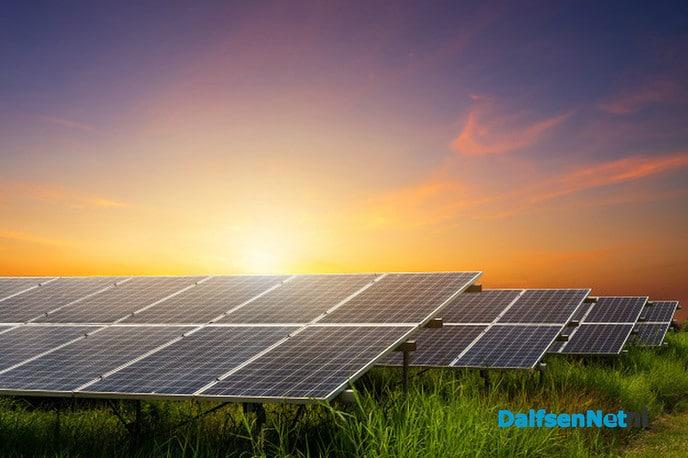 Het is prachtig weer voor het opwekken van zonne-energie - Foto: Ingezonden foto