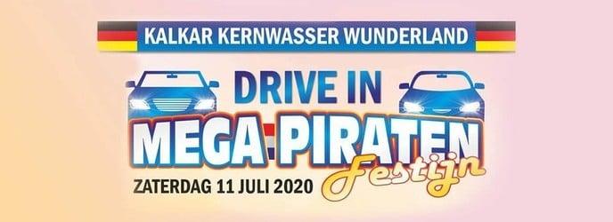 Mega Piraten Festijn naar Wunderland Kalkar