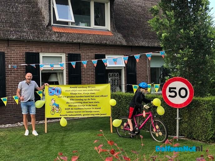 Onze Arnold Hulsing 50 jaar!!! - Foto: Ingezonden foto