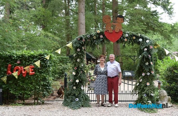 Jan & Miny Marsman vieren gouden huwelijk - Foto: Johan Bokma