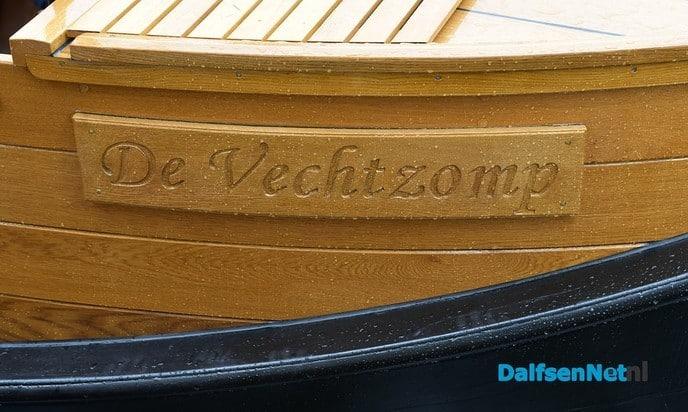 Herstelde Vechtzomp deze week terug in Dalfsen - Foto: Johan Bokma