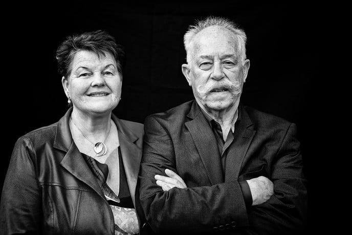 Anneke en Gerrit Hoekman 49 jaar getrouwd. - Foto: Ingezonden foto