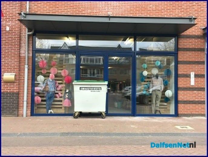 Sponsorverkoop bij Kledingbank Nieuwleusen - Foto: Ingezonden foto