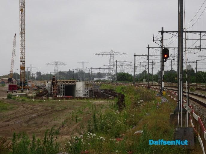 Jaren bezig met het spoor - Foto: Wim