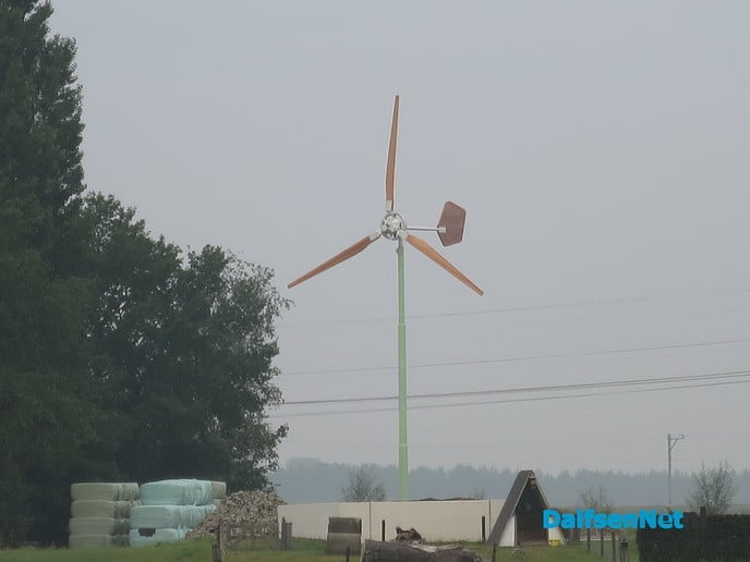 Kleine windmolens steeds meer in trek - Foto: Wim