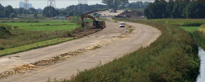 Foto's nieuwe tracé Hessenweg - Foto: Paul Scholten