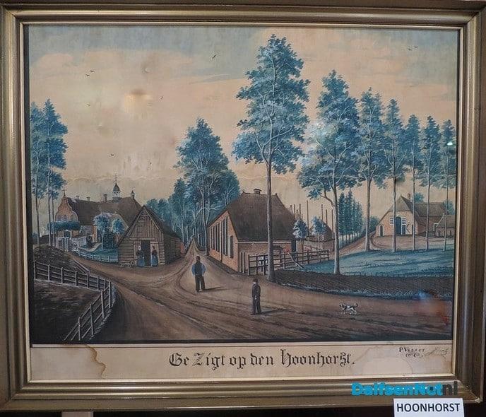 Hoonhorst door de jaren heen deel 1. - Foto: Wim