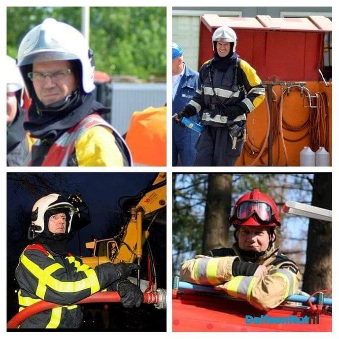 Ron 30 jaar vrijwillige brandweerman - Foto: Ingezonden foto
