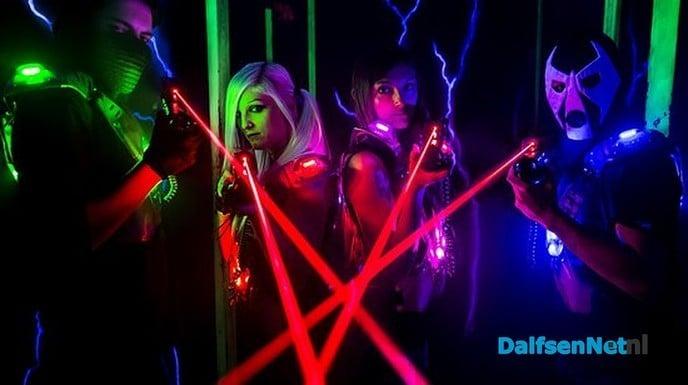 Lasergamen Dalfsen Groep 6,7 en 8 - Foto: Ingezonden foto