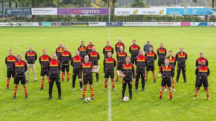 Veteranen SV Dalfsen in het nieuw - Foto: eigen geleverde foto