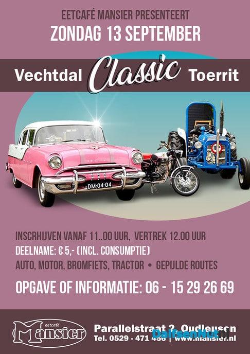 A.s. zondag weer Vechtdal Classic Toerrit - Foto: Ingezonden foto