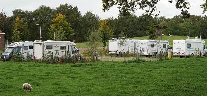 Gemeente gaat camperplaatsen in 2021 zelf exploiteren - Foto: Paul Scholten