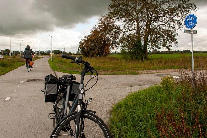 """Nieuw """"fietsrondje"""" - Foto: Paul Scholten"""