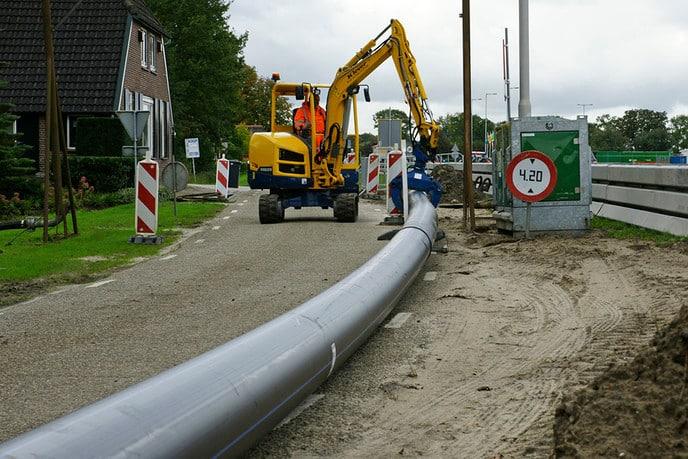 Actuele foto's werkzaamheden Hessenweg - Foto: Paul Scholten