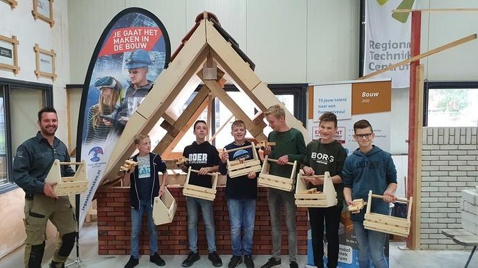 Bouwgroep Talentenbrigade enthousiast - Foto: eigen geleverde foto