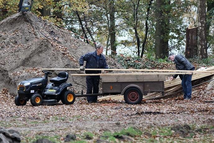 Bouw Klimbos Natuurlijk Heidepark van start - Foto: Hans Heerink
