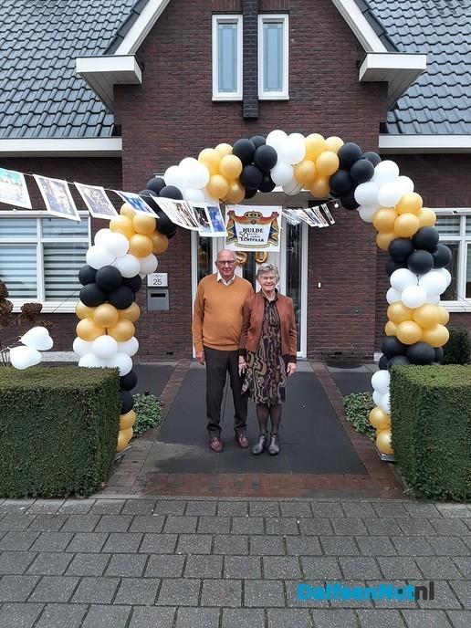 Tiem en Bertha Pruim Gouden paar! - Foto: Ingezonden foto