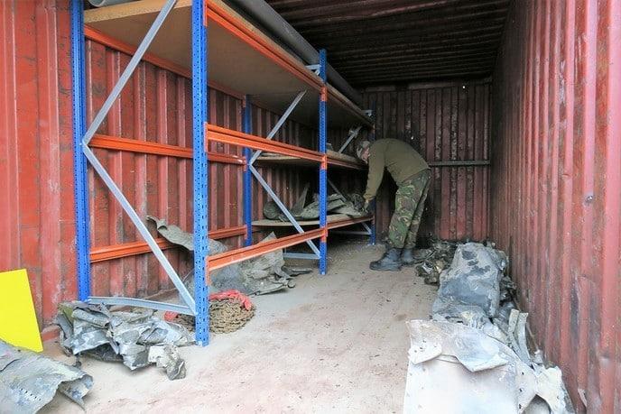 Stoffelijke resten piloot gevonden - Foto: Gemeente Dalfsen