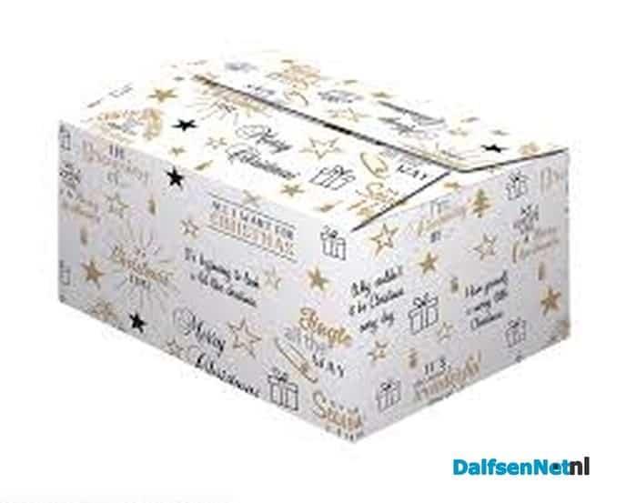 Voedselbank   kerstpakket   dankbaar - Foto: Ingezonden foto
