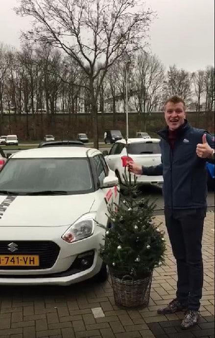 Koop een kerstboom en krijg een Suzuki Swift cadeau