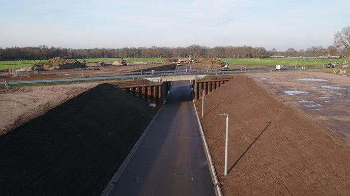 Onderdoorgang N348 bij Dalmsholterdijk is een feit - Foto: Ingezonden foto
