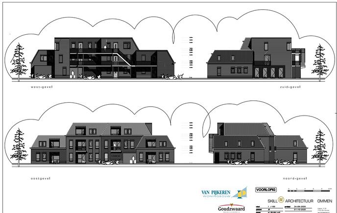 Maandag wordt er gesproken over het plan Pastorietuin Hoonhorst - Foto: Gemeente Dalfsen