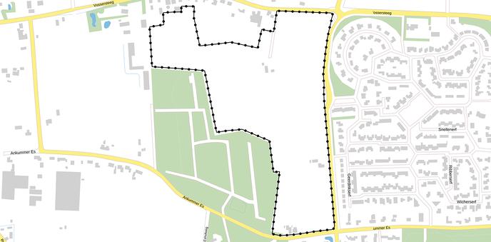 Toekomstige uitbreiding mogelijk naar Dalfsen West - Foto: Gemeente Dalfsen