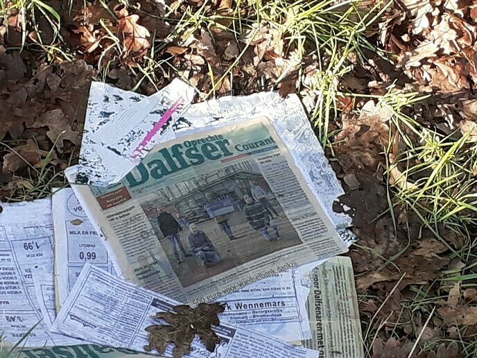 Krantje gemist? - Foto: William uit Dedemsvaart