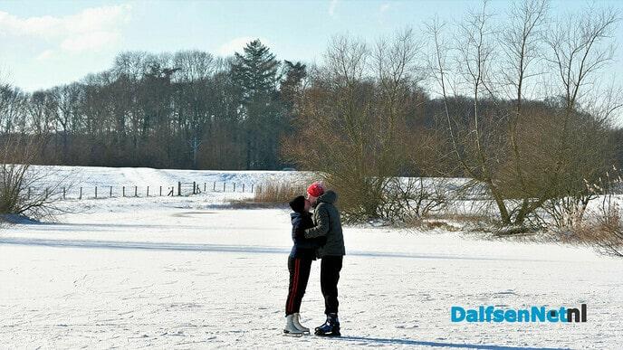 Schaatspret bij IJsclub Stokvisdennen en omgeving - Foto: Johan Bokma