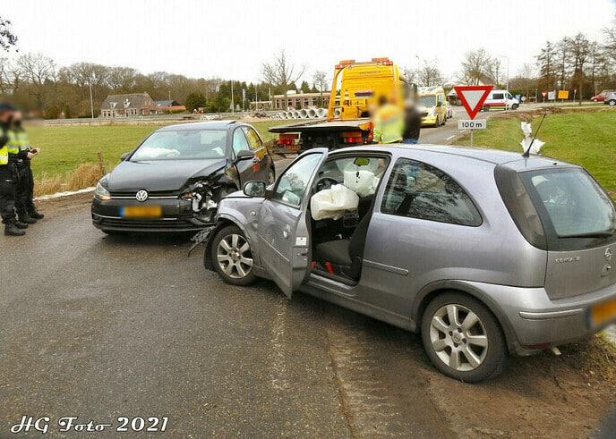 Aanrijding Engellandweg Ankum