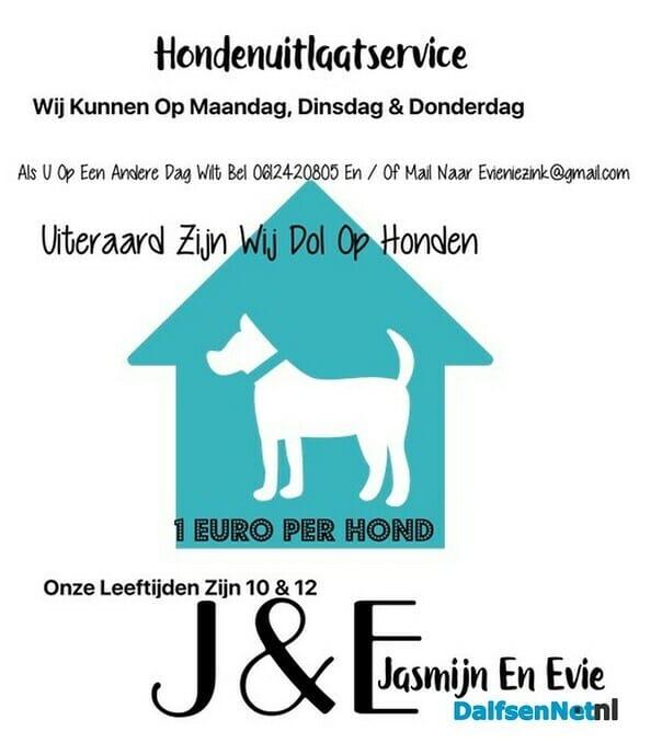 Hondenuitlaatservice - Foto: Ingezonden foto