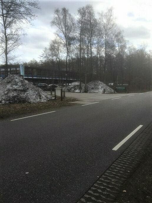 Nog sneeuw bij 18 graden+ - Foto: Ingezonden foto