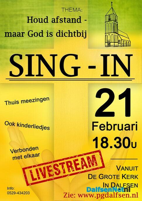 Sing-in Grote Kerk Dalfsen - Foto: Ingezonden foto
