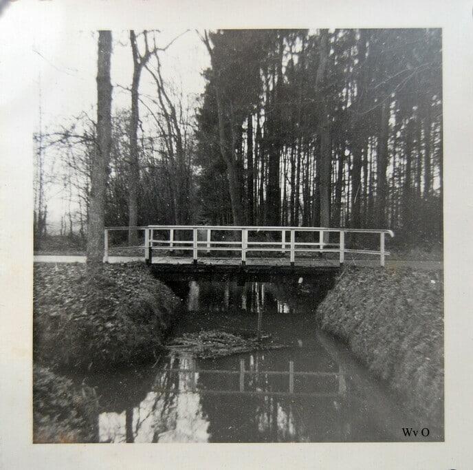 Oude brug aover de Mäswettering Heinoseweg - Foto: Ingezonden foto