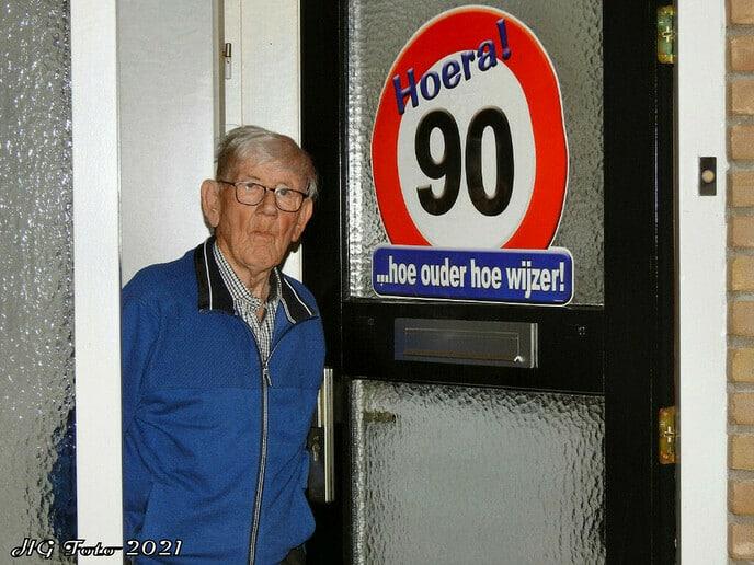 Wim Wildvank 90 jaar