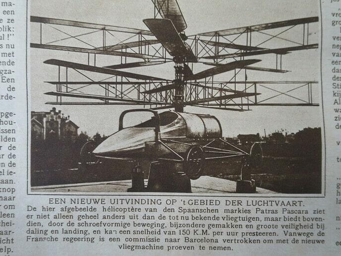 1921, dus 100 jaar geleden - Foto: Wim
