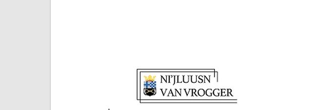 Bericht van de Historische Vereniging Ni'jluusn van Vrogger