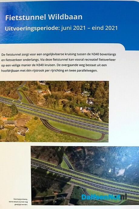 Werkzaamheden aan N340/Hessenweg volop in uitvoering - Foto: Paul Scholten