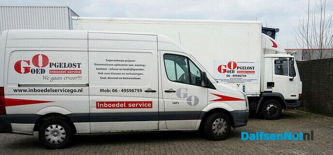 Even voorstellen: Goed Opgelost inboedel service - Foto: Paul Scholten