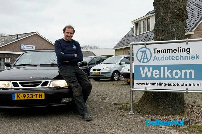 Wouter Tammeling eigenaar van Tammeling Autotechniek - Foto: Paul Scholten