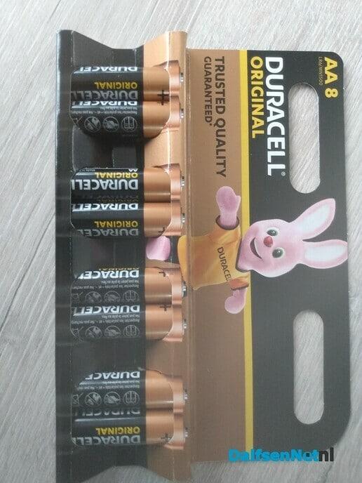Gevonden Duracell batterijen - Foto: Ingezonden foto