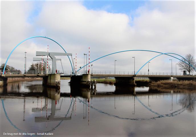 De brug met de drie bogen - Foto: Ingezonden foto