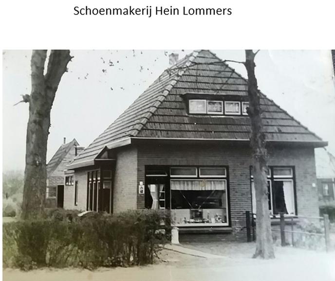 Schoenmakerij Hein Lommers - Foto: Ingezonden foto