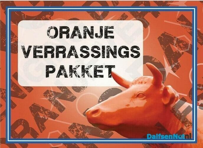 Oranje verrassingspakket - Foto: Ingezonden foto