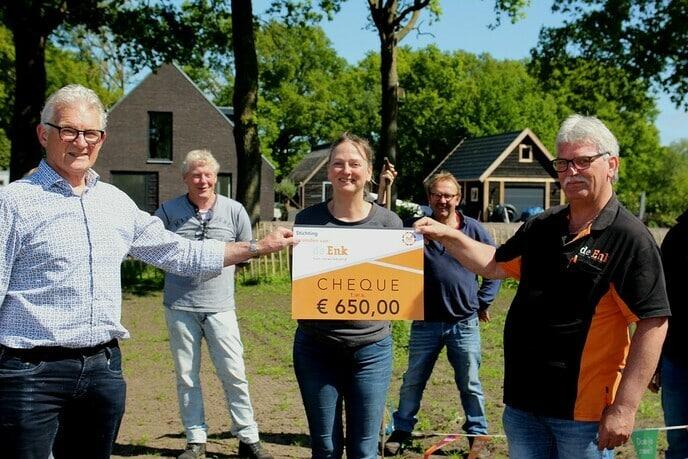 """Nederland doet: Bloementuin """"De Enk"""""""